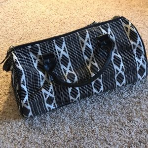 Mossimo - Patterned duffel bag - Black/white